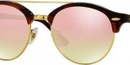 RAY BAN Clubround Double Bridge RB4346 990/7O
